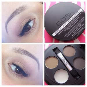 In love with this GOSH brow kit 💜