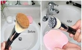 How I Clean My Makeup Brushes | எளிய முறையில் Makeup Brushes எப்படி சுத்தம் படுத்துவது