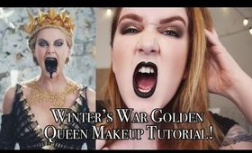 Winter's War Golden Queen Tutorial! | The Glam Squad Collab