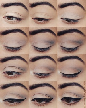 A soft eye makeup look! 