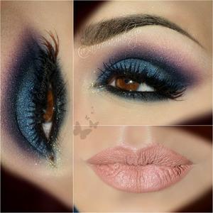 instagram @auroramakeup FB: https://www.facebook.com/AuroraAmorPorElMaquillaje  Details are: brows have Dip Brow Pomade in Ebony by @anastasiabeverlyhills  Eye shadow base by @motivescosmetics  Gel eyeliner in Black as dark base on mobile eyelid by @micabeauty  Eyeshadows on top eyelid and below lower lashes … are into 35 colors SMOKEY EYE palette by @morphebrushes and brushes from de same brand   Lashes are the same used by Angelina look ツ 2 lost pair of lashes by #cremeshop ( both half lashes stack)  Lala mineral Volumizing & Lengthening mascara in Black by @motivescosmetics in top & lower lashes  Lip crayon in Naked as base on my lips and Lady Pink in higher parts , both by @motivescosmetics   Sombras en el ojo de la paleta de 34 colores SMOKEY EYE de Morphe Brushes & Cosmetics   Como base de sombras aplique gel delineador negro de la marca MICABELLA COSMETICS y delinee tambien la linea del agua  Cejas hechas con Dip Brow Pomade de Anastasia Beverly Hills   Labios solo tienen el delineador de labios en color NAKED de Motives by Loren Ridinger y LADY PINK en las partes altas de los labios de la misma marca  Pestanas no tengo idea son las mismas del look de Angelina Jolie , solo mitades de unas CREME que ya no tenian par    Mascara de pestanas de lala mineral en color black de motives cosmetics