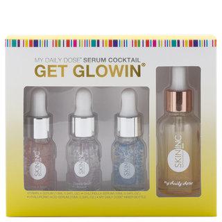 Skin Inc Supplement Bar Custom-Blended Glowin' Set