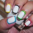 Olympics Nails (Border nails)
