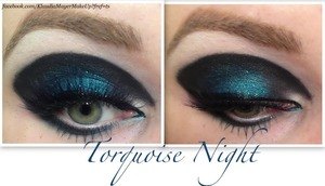 About the look and photo tutorial in my new post: klaudiamayer.blogspot.com/2013/01/turquoise-night.html