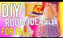 DIY Room decor for fall! Make your room Cozy!