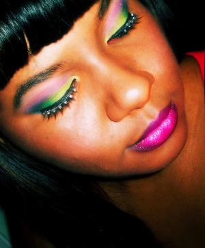 rainbow inspired eyes
