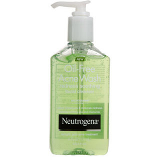 Neutrogena Acne Wash Redness Soothing Facial Gel Cleanser