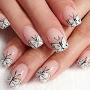 Butterfly Nails <3