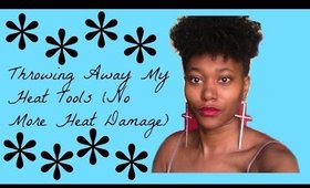Getting Rid Of My Heat Tools | Type Whatever Curls