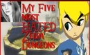 My Five most HATED Zelda Dungeons