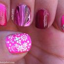 Crazy Pink Nails