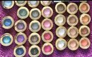 Milani Bella Eyes Eyeshadow Swatches!