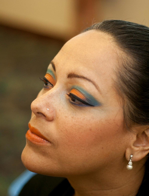 ARTS for ACT 2011 Model:  Margie Espino-Morales Photographer:  Sharon Mammano Photography MUA:  Joelle Geiger