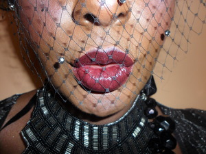 inspired by The Great Gatsby/Roaring 20s cupid bow lips