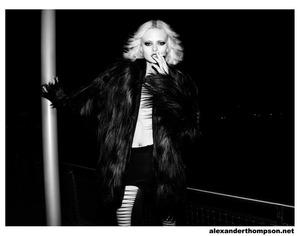 Photo: Alexander Thompson Model:  Rachel McKracken/Click Makeup : James Vincent/Powder Group Hair:  Ahbi Nishman