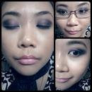 Smokey purple eyes :)
