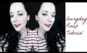 Everday Pinup Makeup Tutorial!