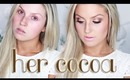 MAC Rihanna Her Cocoa Quad Tutorial ♡ Golden Smokey Eyes