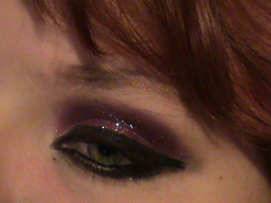 my awesome glitter experimentation
