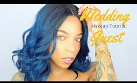 Get Ready With Me | Wedding Guest | Hair & Makeup Tutorial