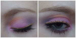 A look inspired by the pinky purples in the sky when the sun rises!