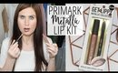 Primark Metallic Lip Kit! | FIRST IMPRESSION