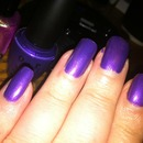 My Purple Nails