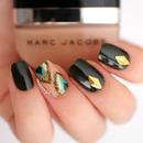 Marc Jacobs Peacock Ikat Nails