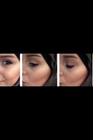 Mac painterly, lingering, dip down espresso  Nars albatross 2000 calorie mascara  Maybeline age rewind concealer  Sleek Contor pallet  Rimmel lipliner: cappuccino, Kate miss lippie in 03
