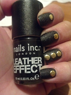 Nails Inc Leather Effects