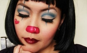 EASY Cute Clown Tutorial for Halloween or a Costume Party