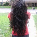 Long Mermaid curls(my sister's hair)
