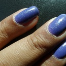 Orly: Purple Pleather + Orly: Shining Star