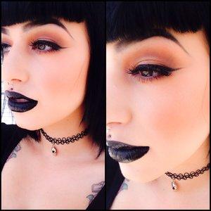 I love dark makeup and I love fall!