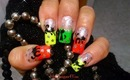 Halloween Nails-How to Paint a Cat, Tutorial - ♥ MyDesigns4You ♥