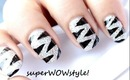 Silver Tiger Nail Art Designs - By superwowstyle