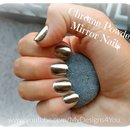 Chrome Powder Mirror Nails