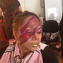 Fantasy makeup class Aladdin Sane