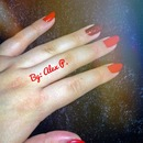 Red Nails By Me