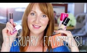 February Beauty Favorites 2014!
