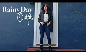 Rainy Day Outfit Ideas | 2020