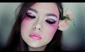 2NE1 Dara Spring Inspired Makeup | Collab With Taya Sunaz
