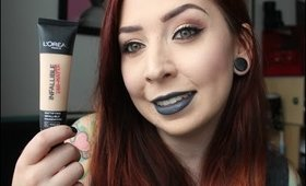 Foundation Examination: L'Oreal Infallible 24-H Matte
