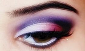 Dramatic Purple Valentine's Day Makeup