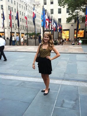 in rockefeller center!