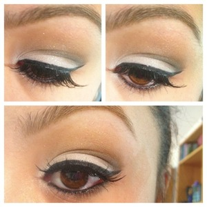 Very simple look thats good for work! I used the colors Sassy, Sultry, Sophisticated, and Silly.