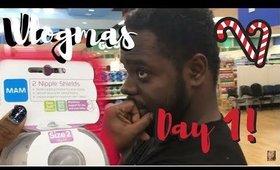 Nipple Shields & Shots | Vlogmas Day 1  ♡