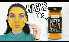 8 Turmeric BEAUTY HACKS That Will Change YOUR LIFE