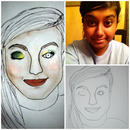 Custom Face Chart: Alexandra