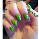 Green polkadots